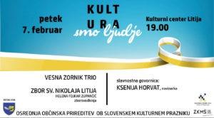 Kultura smo ljudje – ob slovenskem kulturnem prazniku