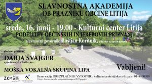 Slavnostna akademija ob prazniku Občine Litija – 16. junij